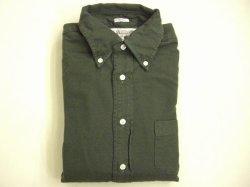 画像1: インディビジュアライズドシャツ スタンダードフィットL/S ブラッシュドオックス  グリーン