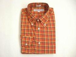 画像1: インディビジュアライズドシャツ L/S  マドラスチェック   オレンジ