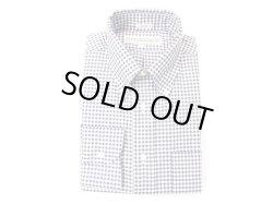 画像1: インディビジュアライズドシャツ L/S  ピンポイントオックス ギンガム   ホワイト×ネイビー