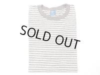 グッドオン ボーダー半袖Tシャツ      METAL×WHITE