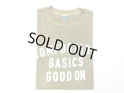 画像1: グッドオン プリント 半袖クルーTシャツ   COMFOTABLE     P-SAGE