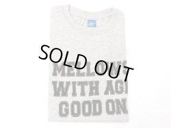 画像1: グッドオン プリント 半袖クルーTシャツ   MELLOWS    METAL
