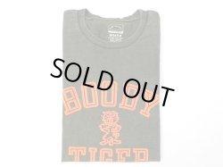 画像1: ミクスタ  S/SクループリントTシャツ  BOODY TIGER    ビンテージブラック