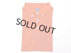 画像1: グッドオン 半袖BDポロTシャツ REACTIVE dye   オレンジ