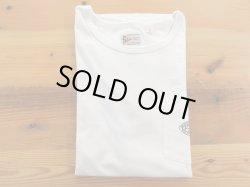 画像1: FELCO   S/Sロゴプリント クルーネック ポケットTシャツ      ホワイト