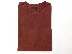 画像1: グッドオン 半袖ポケットTシャツ  P-BORDEAX