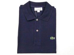 画像1: ラコステ L1212半袖ポロシャツ  blue marine166(ネイビー)