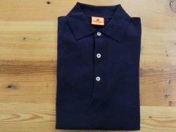 画像1: アンデルセン-アンデルセン    半袖オーガニックコットンポロシャツ   ROYAL BLUE
