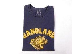 画像1: ミクスタ  S/Sクループリント Tシャツ    GANGLAND WILDCATS    ナイトオーシャン