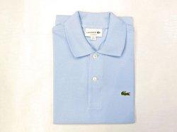 画像1: ラコステ L1212半袖ポロシャツ  HBP(ライトブルー)