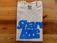 MIXTA SSプリントTシャツ SHARE LOVE  ナチュラル