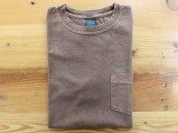 グッドオン 半袖ポケットTシャツ  P-BROWN